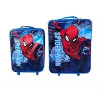 זוג מזוודות טרולי ממותגות לילדים בדגמים לבחירה