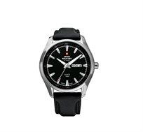 שעון יד שוויצרי לגבר SWISS MILITARY עשוי פלדת אל חלד עמיד במים עד 100M