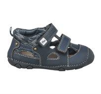 נעלי צעד ראשון סופטי לייקרה Papaya לתינוקות בצבע כחול נייבי