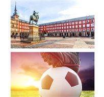 """חבילת ספורט למשחק הכדורגל ריאל מדריד מול סביליה כולל 3 לילות במדריד ע""""ב א.בוקר רק בכ-€686* לאדם!"""