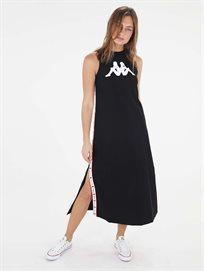שמלת מידי שחורה - נשים Kappa