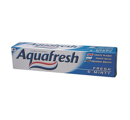 מארז 5 משחות שיניים AquaFresh Mint אקווה פרש