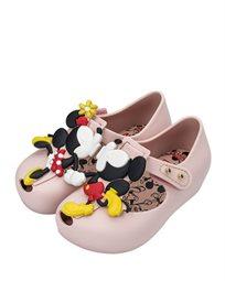 Mini Melissa נעלי בובה (מידות 27-19) - ורוד מיני ומיקי מאוס