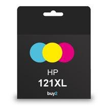 מדפיסים בצבעים! ראש דיו תואם HP 121XL צבעוני, דיו איכותי למדפסת
