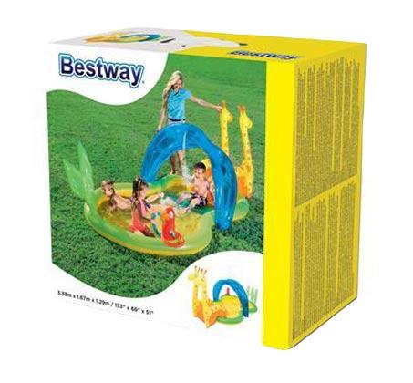 בריכת BESTWAY פעילות גן חיות 338X167X129 דגם 53060 - משלוח חינם - תמונה 3