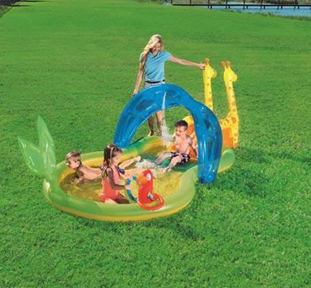 בריכת BESTWAY פעילות גן חיות 338X167X129 דגם 53060 - משלוח חינם - תמונה 2