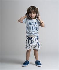 חולצת לייקרה עם אפליקציית גינס