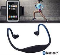 אוזניות ספורט עורפיות Bluetooth + נרתיק ספורט לזרוע המתאים לכל סוגי הסמארטפונים