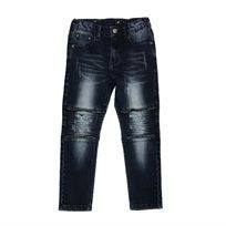 ORO ג'ינס(12 חודשים -16 שנים) - כחול רוכסן בברך