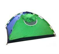אוהל אינסטנט! אוהל פתיחה מהירה עם מנגנון משיכה להקמה מהירה במיוחד, מתאים ל-4 אנשים עם פתח כניסה רחב