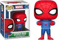 Funko Pop - Holiday Spiderman  (Marvel) 397 בובת פופ