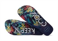 HAVAIANAS גברים//  TROPICAL NAVY BLUE