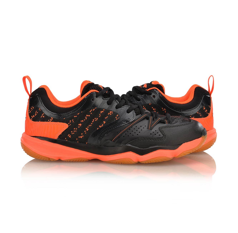 נעלי אינדור מקצועיות לגברים Li Ning Badminton Training - שחור/כתום