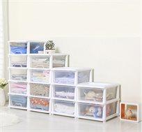 שידת אחסון לחדרי הבית עם 5 תאי אחסון HomeTown בצבעים לבחירה
