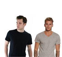 מארז 3 חולצות לגבר ולאישה מבית HANES
