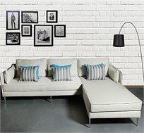 ספה פינתית מעוצבת בהשראה אירופאית דגם ורוניק
