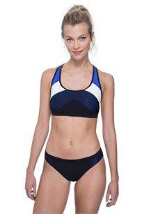 תחתוני ביקיני Free Sport לאישה בצבע שחור/כחול