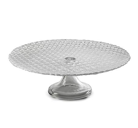 מגש עוגה על רגל מזכוכית Arcosteel