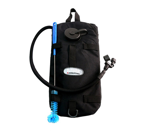 מערכת מים המתאימה לטיולים ולשימוש צבאי עם נפח שקית מים כ-3 ליטר דגם FREE 3L