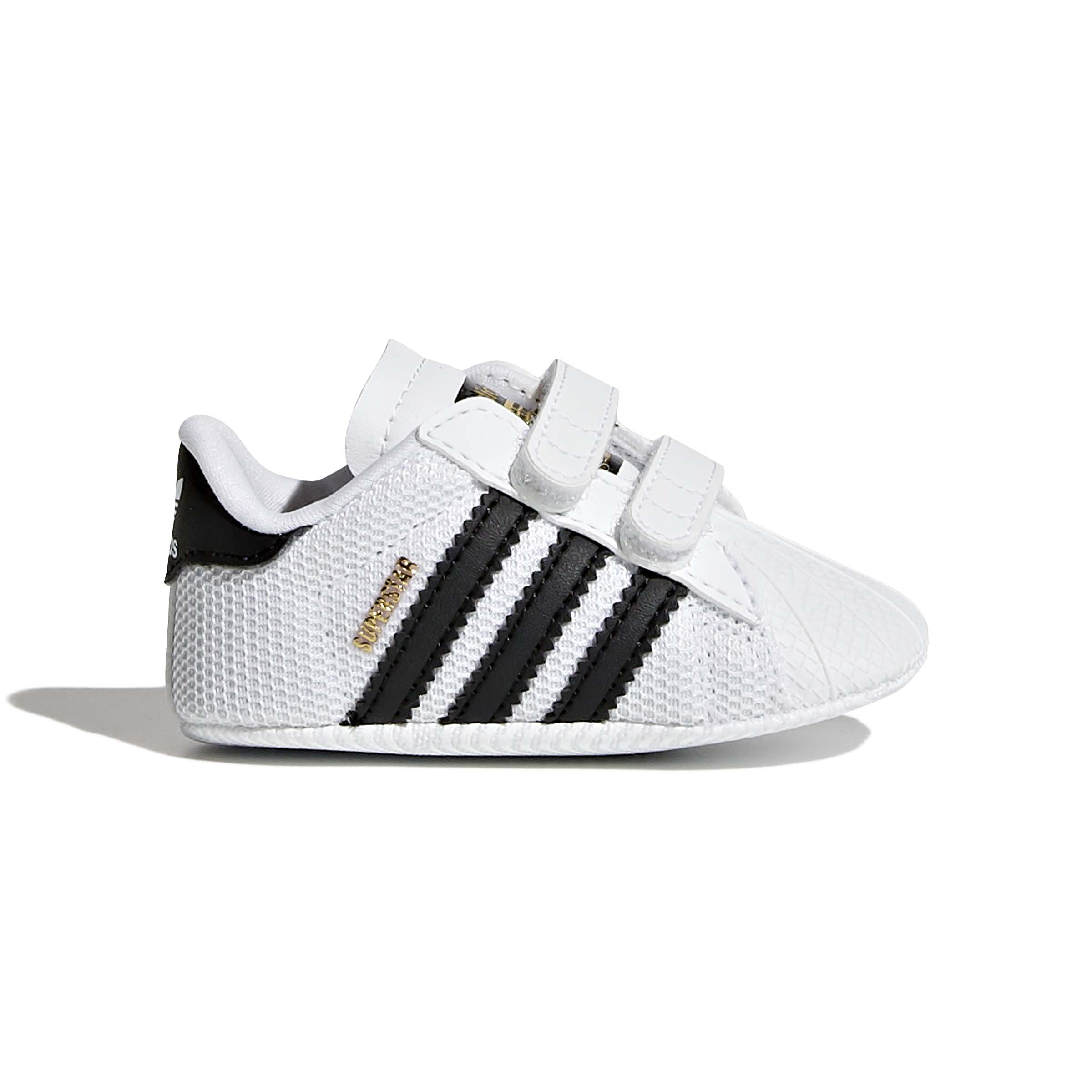 Adidas תינוקות // Superstar White / Core Black