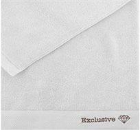 """מגבת גוף בגודל 70X130 ס""""מ בצבע לבן Vardinon"""