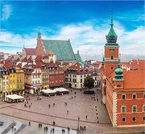 טיסות לורשה-פולין בחודשים נובמבר עד מרץ  רק בכ-$151*