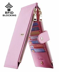 Lambo Wallet Multi Card Case Pink