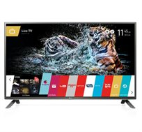 "טלוויזיה חכמה ""50 LED Smart TV Slim תלת מימד Full HD עם Wifi מובנה, מעבד 900 PMI דגם 50LF650Y LG"