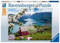פזל 500 נוף כפרי צופה לאגם