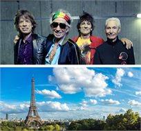 טסים לפריז ורואים הופעה חיה של The Rolling Stones החל מכ-€629*