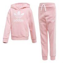 Adidas ילדים // Trefoil Hoodie Set Light Pink