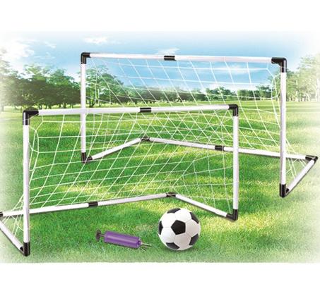 עדכון מעודכן זוג שערי כדורגל 1.20 מטר כולל כדור כדורגל ומשאבה לניפוח מתנה מבית DB-06