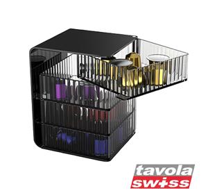 מעמד יוקרתי ל- 40 קפסולות NESPRESSO Tavola Swiss  דגם CUBE