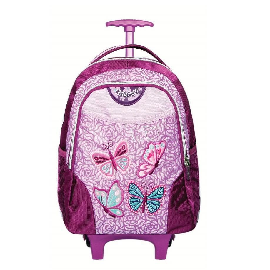 תיק גן דגם טרולי קלאסי במבחר דגמים לילדות לבחירה - KAL GAV - תמונה 4