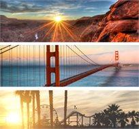"""טיול בארה""""ב-המערב הפרוע כולל ילוסטון, LA, סן פרנציסקו, לאס וגאס ועוד החל מכ-$4440*"""