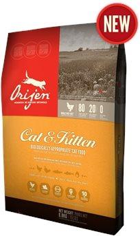 אוריג'ן לחתולים וגורי חתולים 5.4 ק''ג
