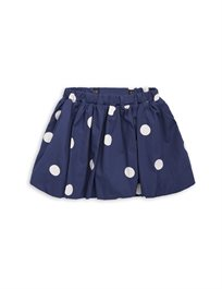 MINI RODINI// Dot woven skirt navy