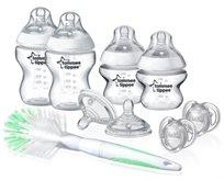 טומי טיפי הכי טבעי סט האכלה 9 חלקים לתינוקות ופעוטות