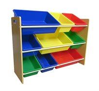 ארגונית צעצועים איכותית וחזקה לחדרי ילדים
