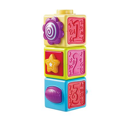 """""""הקוביות הראשונות שלי"""" - מפתח יכולות מוטוריות ותאום עין יד"""