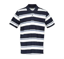 חולצת פולו פיקה 3 פסים Offset לגברים במגוון צבעים לבחירה