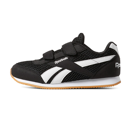 נעלי סניקרס לילדים Reebok Royal CLJog 2 2V - שחור/לבן