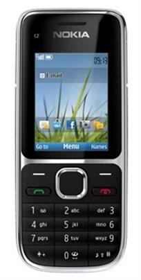 טלפון סלולרי Nokia C2-01 רזולוציית מסך 320 × 240 כרטיס זיכרון תואם microSD אחריות חצי שנה - משלוח חינם!