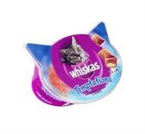 3 חטיפי ויסקס Whiskas לחתול בטעמים שונים