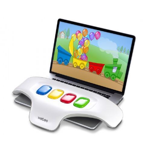 מקלדת WEBEE לילדים + 50 משחקים - משלוח חינם - תמונה 2