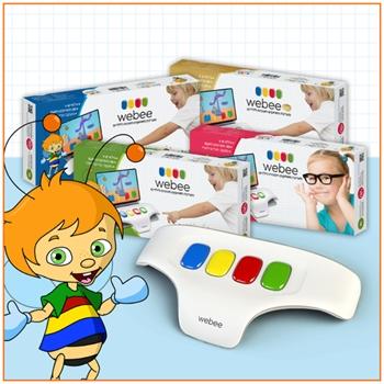 מקלדת WEBEE לילדים + 50 משחקים - משלוח חינם - תמונה 4