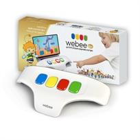 מקלדת Webee לילדים + 50 משחקים