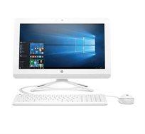 """מחשב HP ALL-IN-ONE מסך """"19.5 דיסק קשיח 500GB זיכרון 4GB בצבע לבן כלול מקלדת ועכבר חוטי מתנה"""