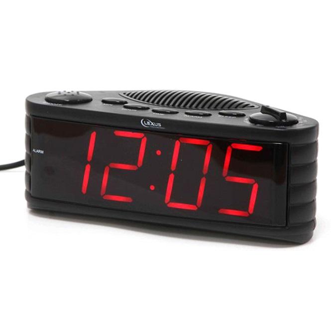 רדיו שעון מעורר עם תצוגה גדולה