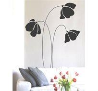 מדבקת קיר - Modern Flower